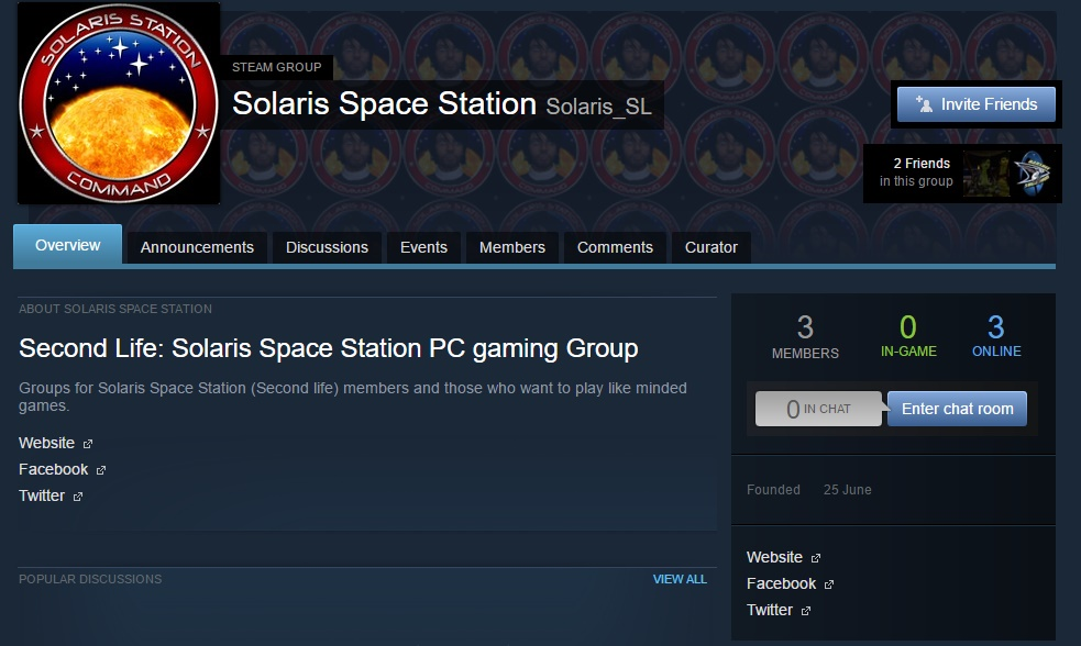 Steam group